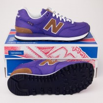 New Balance Women's Backpack 574 Classics Running Shoe Purple WL574BPV