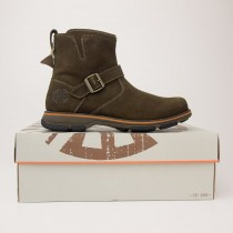 Dunham by New Balance Men's Rufus Mid Zip Boot DAC04FO in Fossil