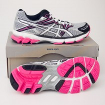 Asics Women's GT-1000 Running Shoes T2L6N-9101 in Silver