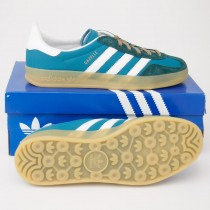 Adidas Originals Gazelle Indoor Soccer Shoes G96687 in Deep Lake