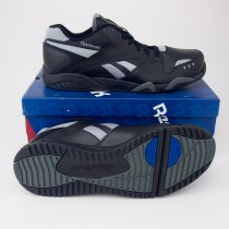 Reebok Men's Royal Satellite Cross-Training Shoes V47066 in Black/Rivet Grey