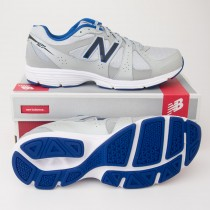 New Balance Men's 421 Running Shoes ME421BB1 in Grey with Blue