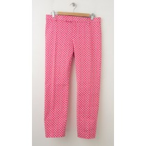NEW Gap Slim Cropped Pants in Lantern Print