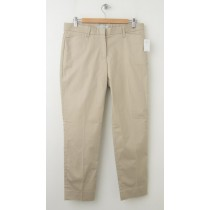 NEW Gap Slim Cropped Pants in Motocross Khaki