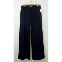 NEW Gap Wide Leg Trouser Pants in True Black