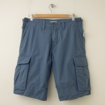 NEW Gap Ripstop Cargo Shorts in Bainbridge Blue
