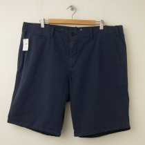 NEW Gap Lived-In Flat Front Short in Hague Blue