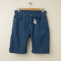 NEW Gap 1969 Straight Fit Corduroy Shorts in Grey