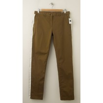 NEW Gap Broken-In Straight Tuxedo-Striped Khaki Pants in Modern Bronze