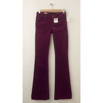 NEW Gap 1969 Perfect Boot Cords Corduroy Pants in Ruby Wine