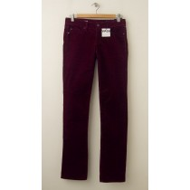 NEW Gap 1969 Real Straight Cords Corduroy Pants in Ruby Wine