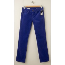 NEW Gap 1969 Real Straight Cords Corduroy Pants in Powerful Blue