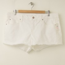 NEW Gap 1969 Summer Cut-Offs Denim Shorts in White