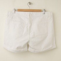 NEW Gap 1969 Real Straight Denim Shorts in White Wash
