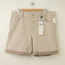 NEW Gap 1969 Summer Slim Denim Shorts in Brown