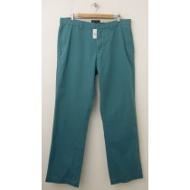 NEW Banana Republic Emerson Vintage Straight-Fit Chino Pants in Green