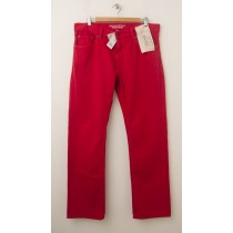 Banana Republic Vintage Straight-Fit Five-Pocket Pants in Tomato Paste