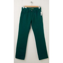 NEW GapKids Boy's 1969 Straight Jeans in Zone Green