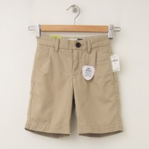 GapKids Boy's GapShield Easy Fit Pleated Short in Cargo Khaki
