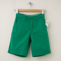 NEW GapKids Boy's Flat Front Shorts in Gumdrop