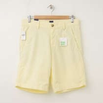 "NEW Gap Oxford Flat Front 9"" Shorts in Meteor Yellow"