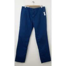 NEW Gap Men's Lived-In Slim Khaki Pants in New Zephyr Blue