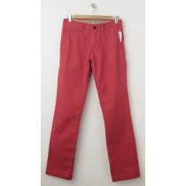 NEW Gap Men's Lived-In Slim Khaki Pants in Faded Red