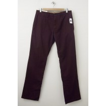 NEW Gap Men's Lived-In Straight Khaki Pants in Cherrywood