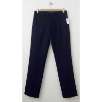 NEW Gap Straight Fit Tailored Tweed Pants in Tapastry Navy