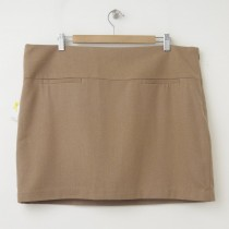 NEW Gap Wool Mini Skirt in Camel