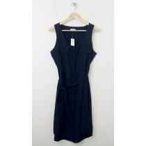 NEW Gap Printed Racerback Dress in Navy Dot