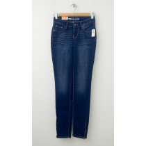 Old Navy The Rock Star Super Skinny Ankle-Zip Jeans in Blue Ridge