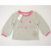 NEW babyGap Beatrix Potter Intarsia Peter Rabbit Sweater in Kitty