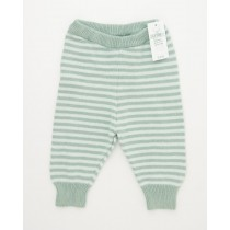 NEW babyGap Striped Sweater Pants in Sage Tint