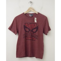 NEW GapKids Junk Food Superhero Spider Man Tee T-Shirt in Red