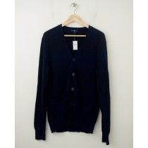 NEW Gap Cotton Cardigan Sweater in Deep True Navy