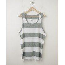 NEW Gap Rugby Striped Tank in White