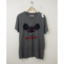 NEW Gap deadmau5 Graphic Tee T-Shirt in Heathered Grey