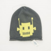 NEW babyGap Intarsia Robot Hat in Shadow