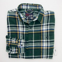 NEW Old Navy Vintage Flannels Regular Fit Shirt in Pine Tingling