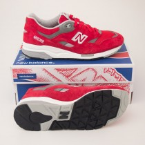 New Balance Men's 1600 Classics Retro Sneakers CM1600FR in Fiery Red