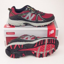 New Balance Men's 510 Trail Running Shoe MT510RB1 in Red with Black