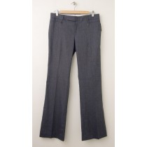 NEW Gap Modern Boot Linen Blend Pants in Dark Indigo