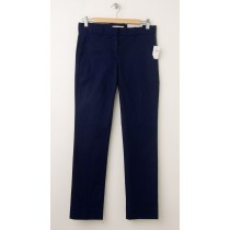 NEW Gap True Straight Piped Pants in Navy Uniform