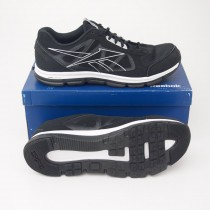 Reebok Men's Dual Turbo Running Shoe J96037 in Black/Pure Silver/White