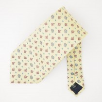 Grant Thomas Silk Tropical Fish and Starfish Print Tie