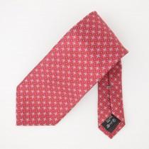 Ermenegildo Zegna Silk Geometric Print Tie