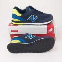 New Balance Men's 515 Classics Running Shoes ML515GG in Navy