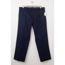 NEW Gap Straight Fit Tailored Khaki Pants in Blue Galaxy