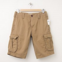 NEW Gap Basic Cargo Shorts in Cream Caramel